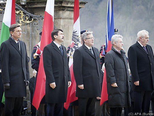 Treffen der Visegrad-Staatschefs