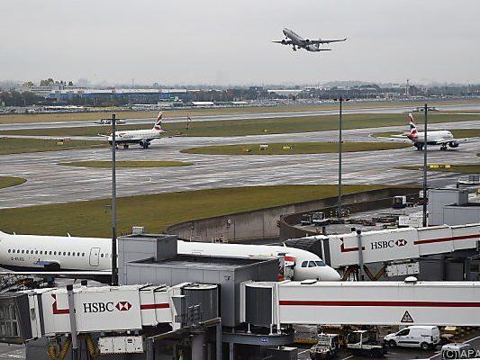 Auch in Heathrow keine Starts und Landungen