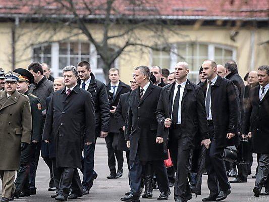 Ukrainischer Präsident zu Besuch in Polen
