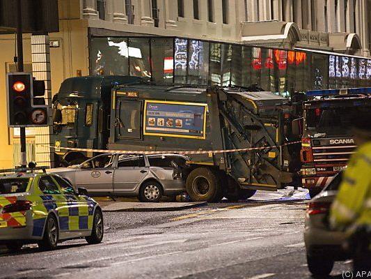 Schweres Unglück in Glasgow