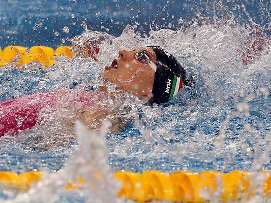 Katinka Hosszu schlug in 55,03 Sekunden an