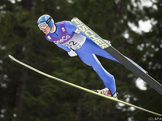 Bernhard Gruber wieder bester Österreicher
