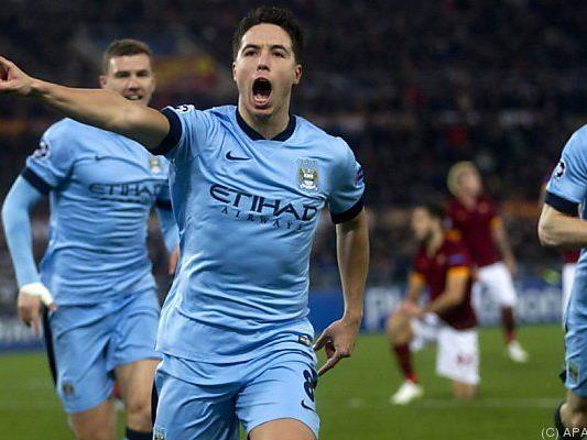 Manchester City gewann bei der AS Roma 2:0