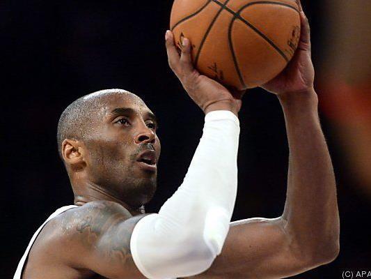 Mit einem Freiwurf überholte Kobe sein Vorbild