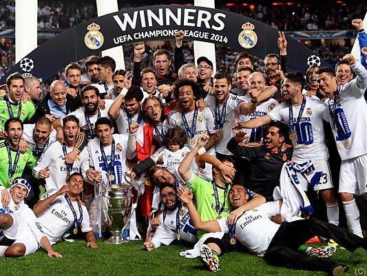 Real Madrid ist der Titelverteidiger