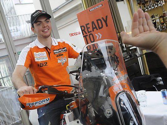 Matthias Walkner mit seiner KTM