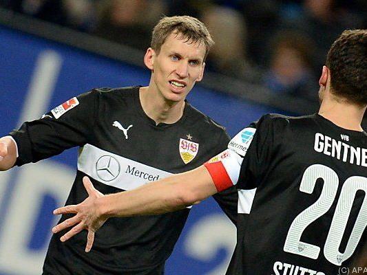 Florian Klein schoss das 1:0 für den VfB beim HSV