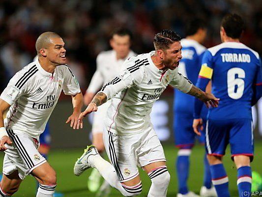 Ramos eröffnete den Torreigen Reals