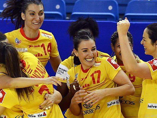 Spanierinnen überglücklich