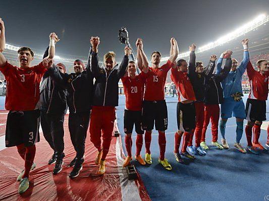 Die 23.-beste Nationalmannschaft des Jahres