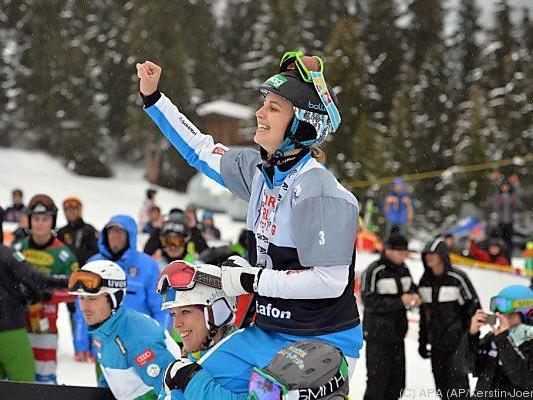 Sabine Schöffmann bejubelt ihren Premieren-Sieg