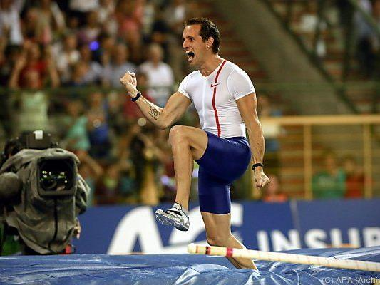 Lavillenie schraubte Weltrekord auf 6,16 Meter