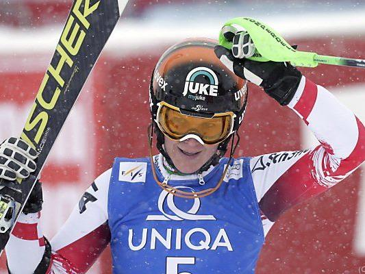 Nicole Hosp landete auf Platz sieben