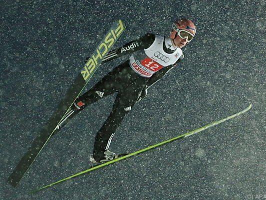 Skiflug-Weltmeister Severin Freund enttäuschte
