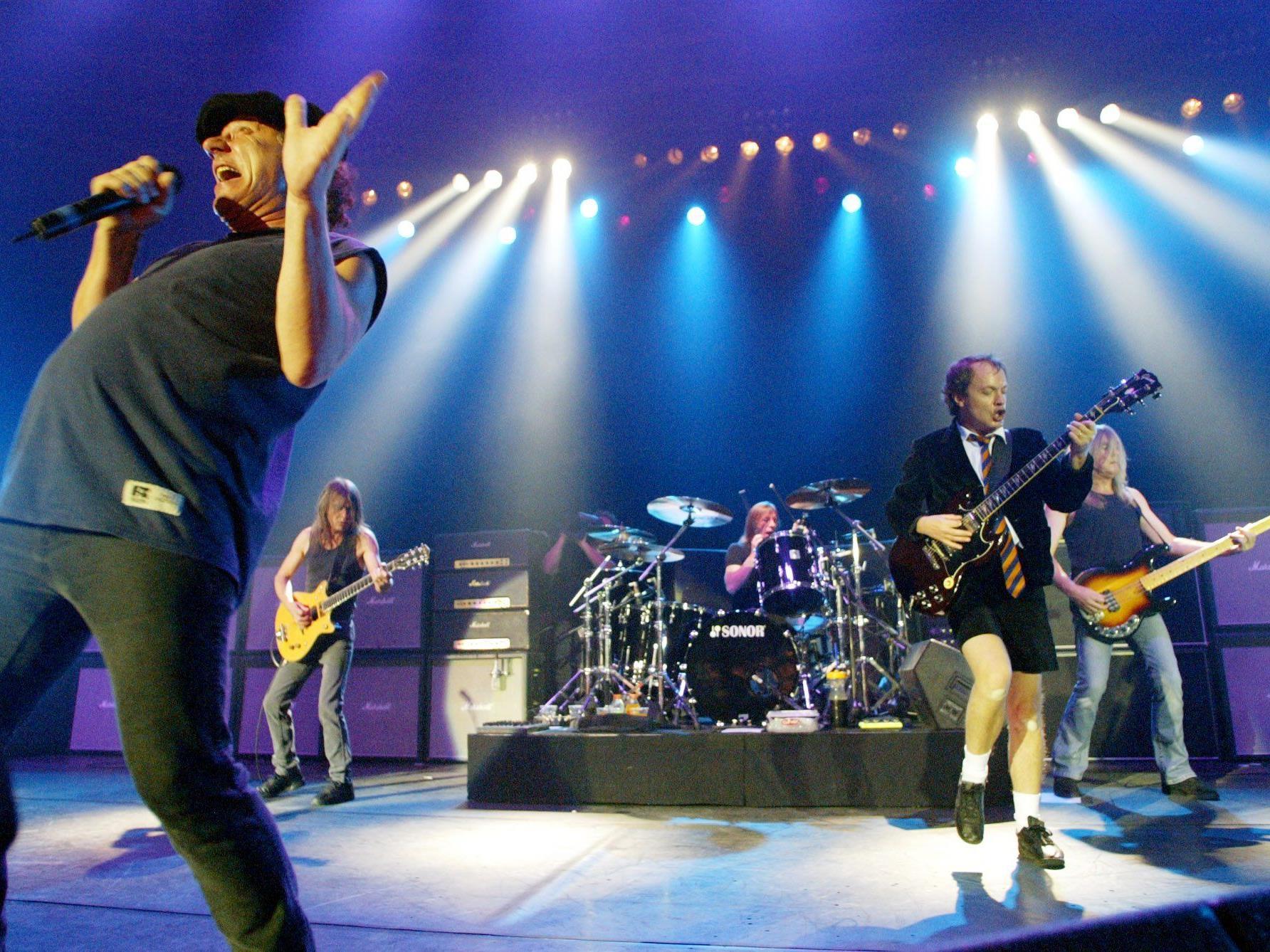 AC/DC spielen am 14. Mai 2015 ihr Österreich-Konzert in Zeltweg.