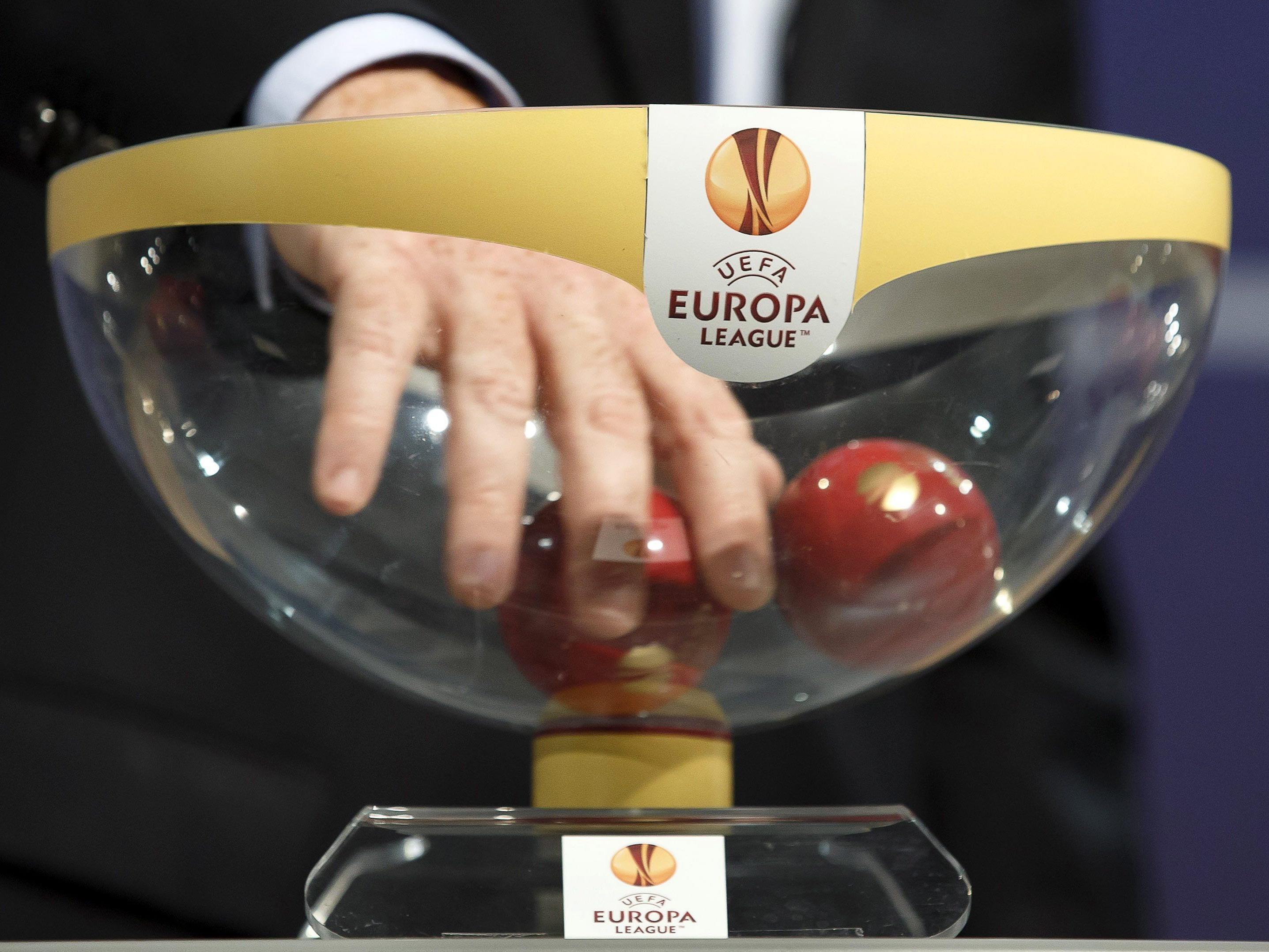 Die Auslosung für das Sechzehntelfinale der UEFA Europa League fand in Nyon statt.