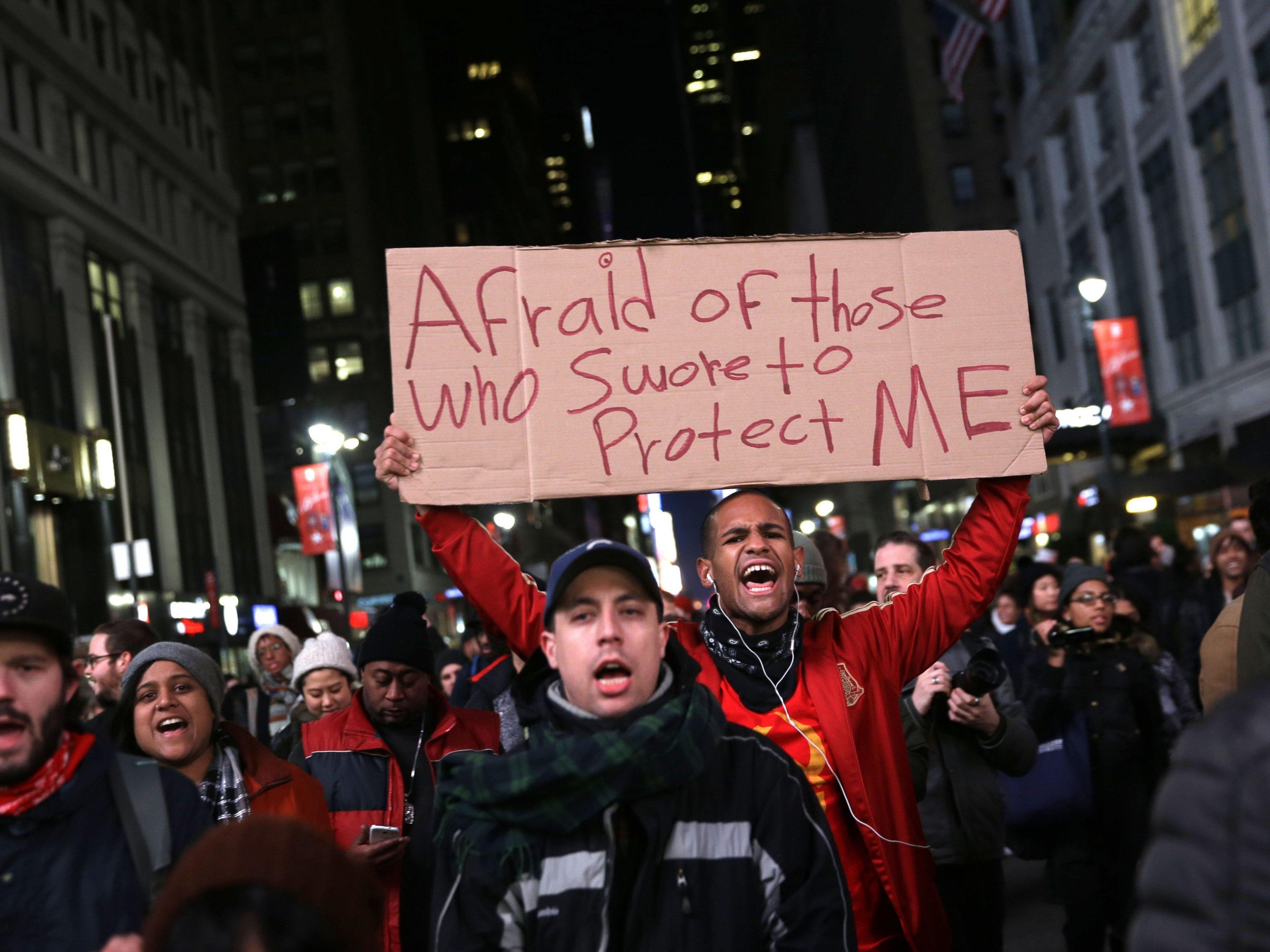 Proteste für die vier jüngsten Fälle: Vom zwölfjährigen Buben bis zum 43-jährigen Familienvater.