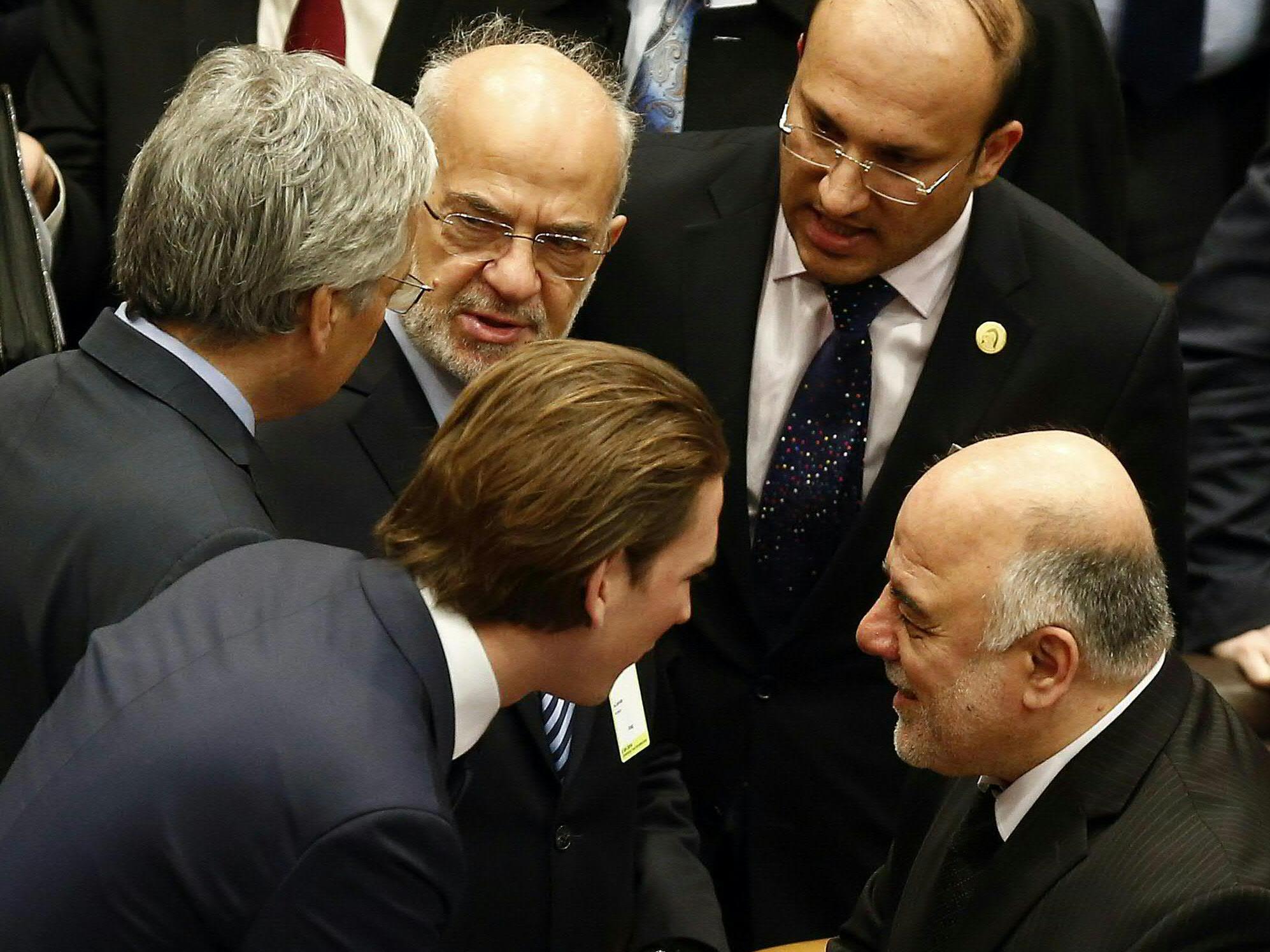 Auch Außenminister Sebastian Kurz nahm an dem Treffen teil.