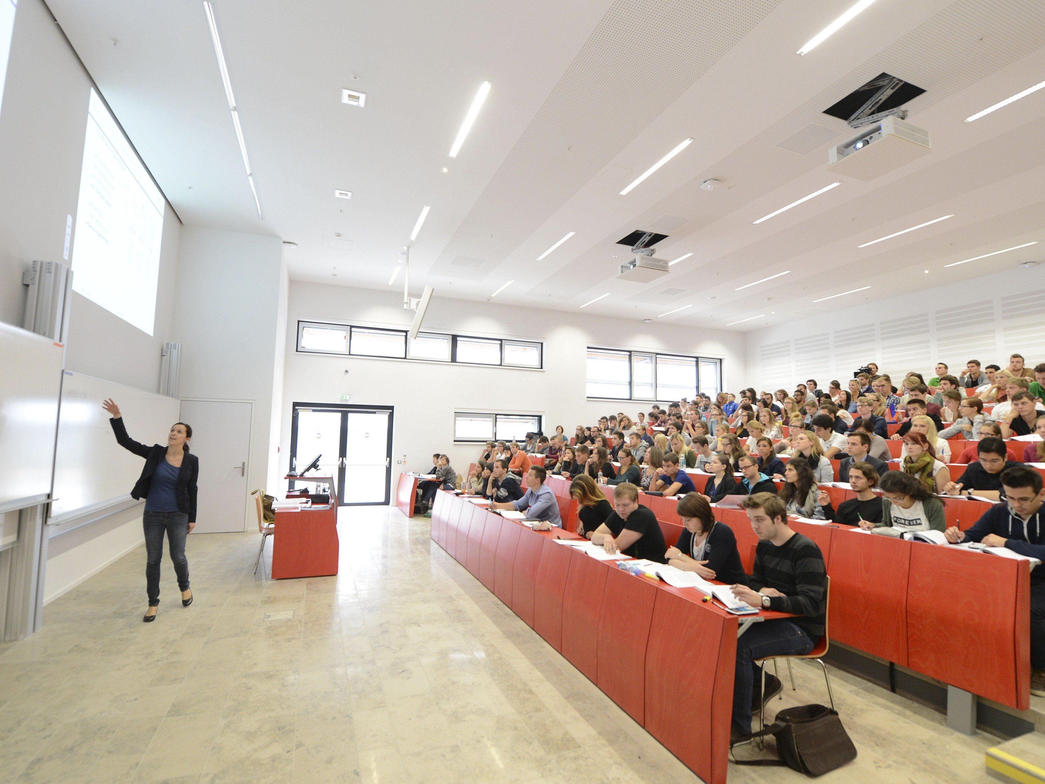 Am häufigsten studieren die Deutschen in Österreich Rechts-, Wirtschafts- und Sozialwissenschaften