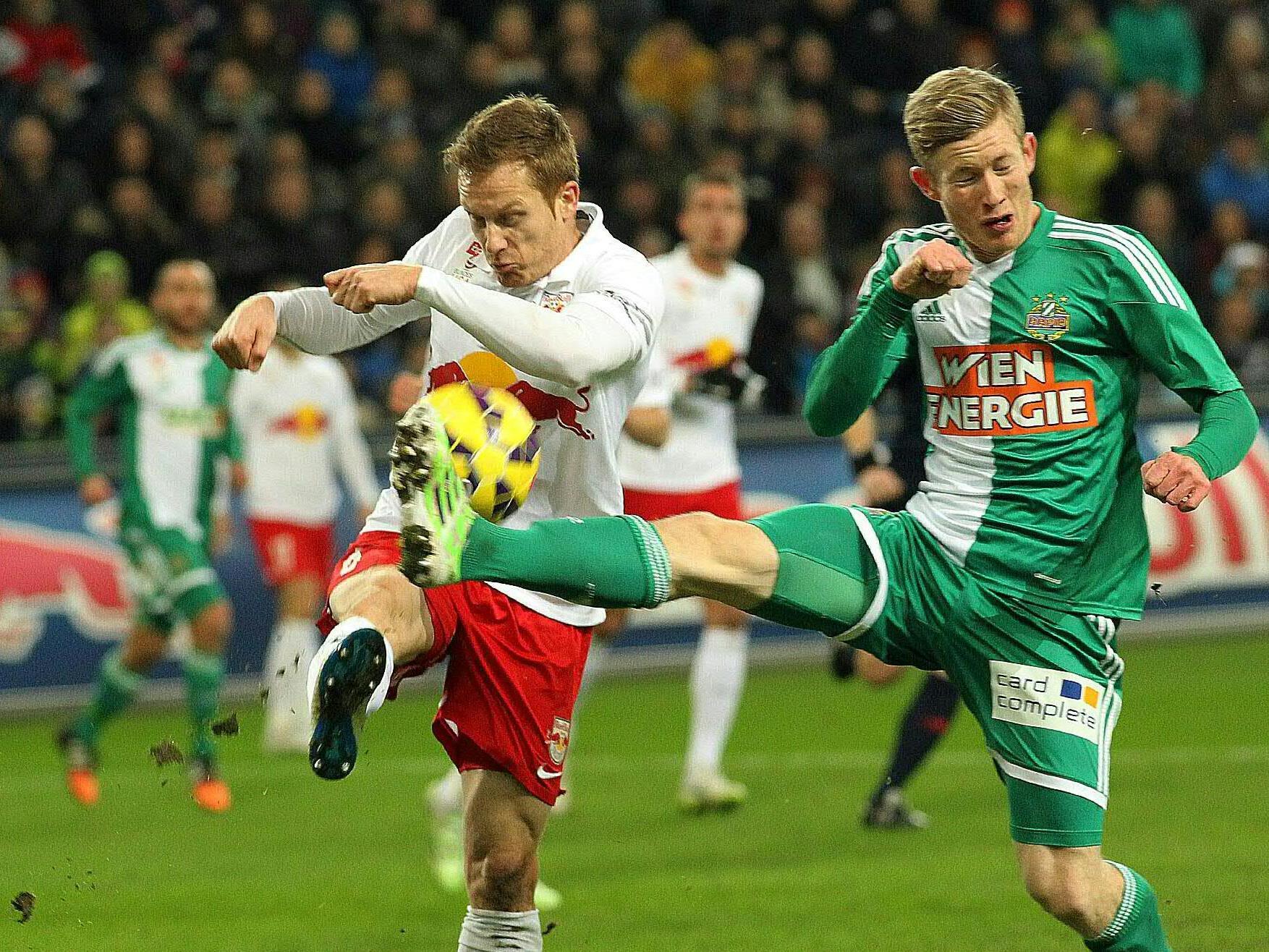 Rapid setzte sich gegen Salzburg durch