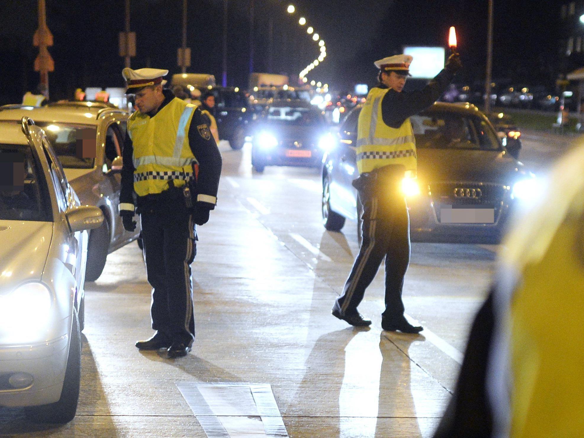 Mehr als 1.000 Anzeigen hagelte es bei Verkehrskontrollen in der Vorweihnachtszeit in Wien.