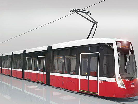Bombardier wird die neue Straßenbahn-Generation für die Wiener Linien bauen - Siemens ist dagegen