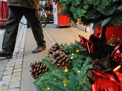 Kurz vor dem Fest kann sich der Handel auf einen ansturm der Einkäufer freuen