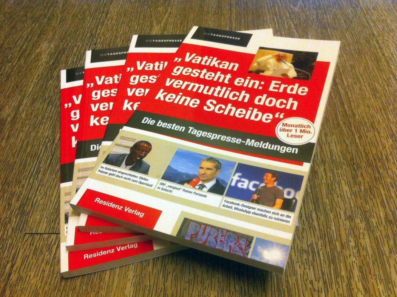 """Wir verlosen für Bücher der """"Tagespresse""""."""