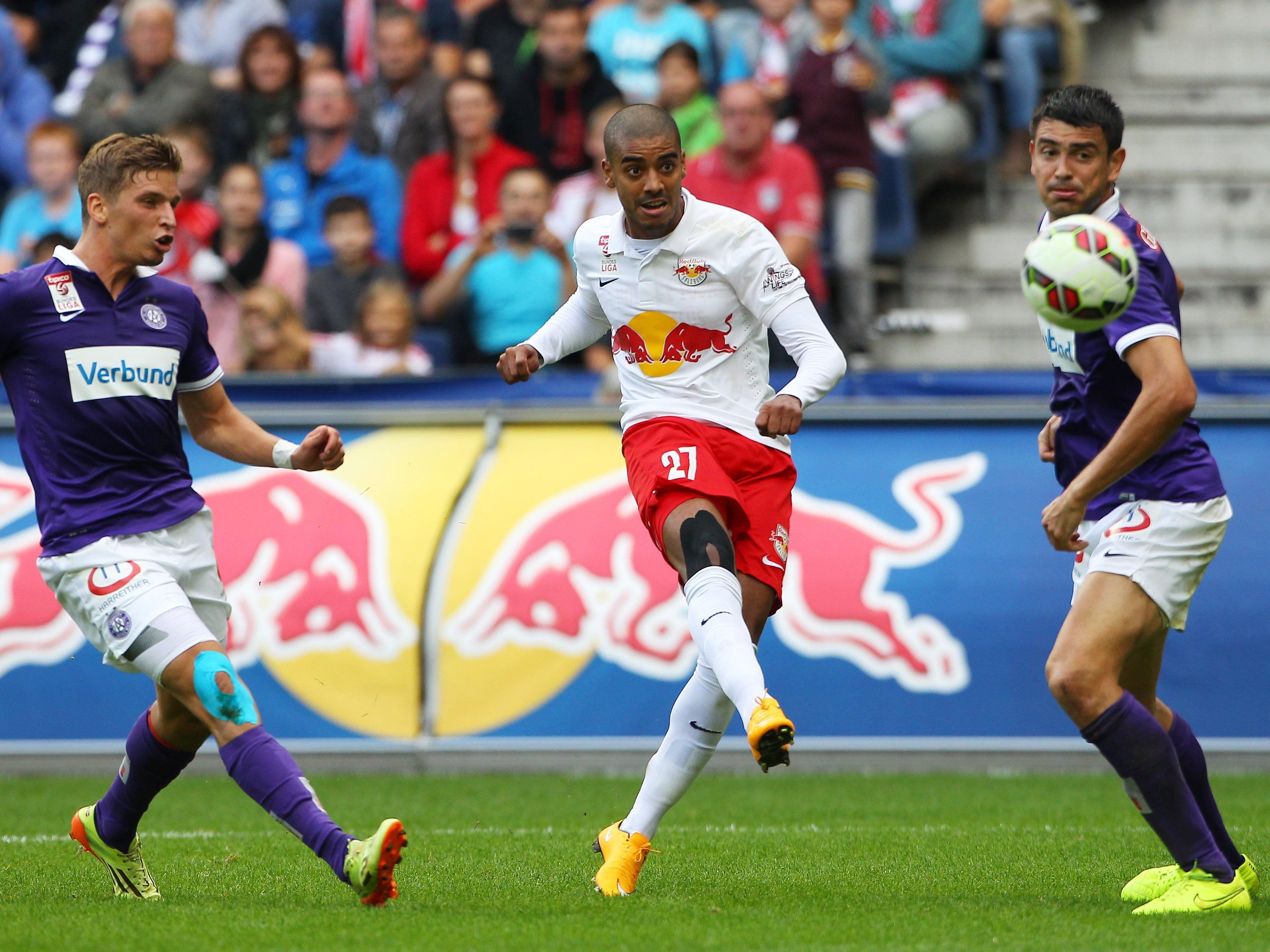 Alan schoss Red Bull Salzburg im Hinspiel in Front. Aber die Austria drehte das Match.