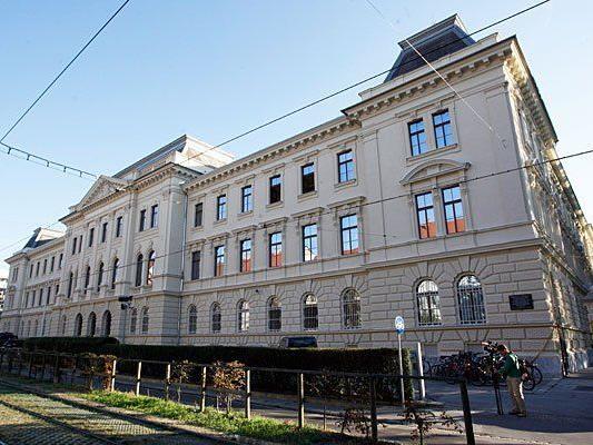 Am Straflandesgericht Graz fand die erneute Haftprüfung statt