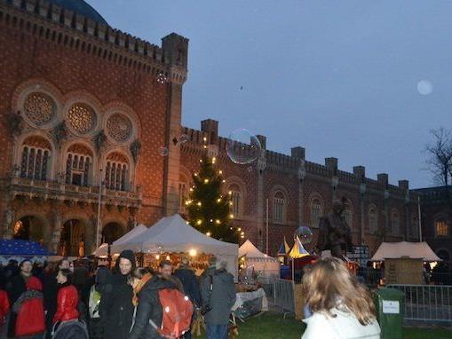 Der mittelalterliche Weihnachtsmarkt beim Heeresgeschichtlichen Museum