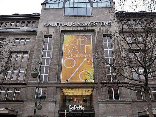 """Das bekannte KaDeWe (""""Kaufhaus des Westens"""" in Berlin - bald auch in Wien?"""