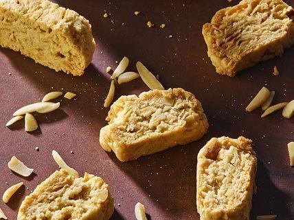 Diese Kekse kommen komplett ohne tierische Inhaltsstoffe aus.
