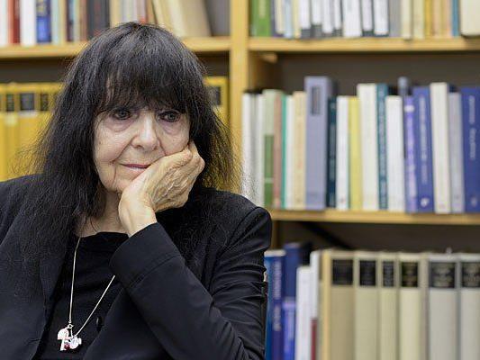 Friederike Mayröcker soll eine Auszeichnung in Wien erhalten