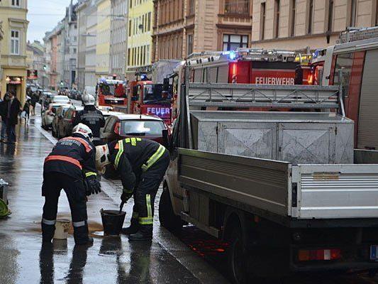 Beim Einsatz in Wien-Margareten