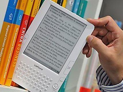 Auch E-Books werden vermehrt aus der Bücherei ausgeliehen