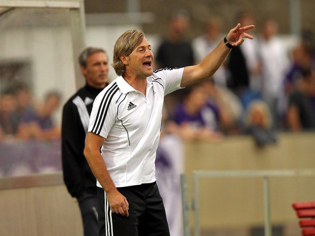"""Franz Aigner hat eine violette Vergangenheit und wäre laut """"HeRo"""" der perfekte Austria-Trainer."""