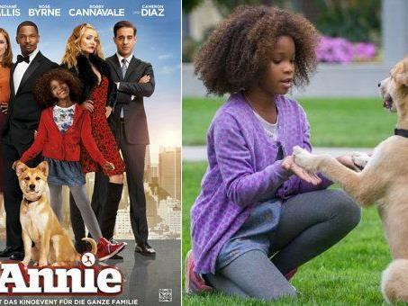 """Goodies zu """"Annie"""" gewinnen."""