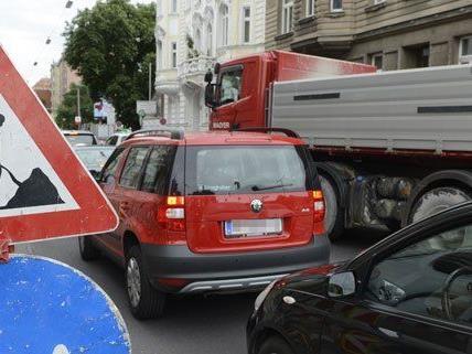 Die Währinger Straße muss für zwei Tage zum Teil gesperrt werden.