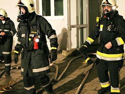 Brandstiftung in Wien.