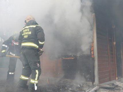 Bei dem Brand im 14. Bezirk gab es glücklicherweise keine Verletzten.