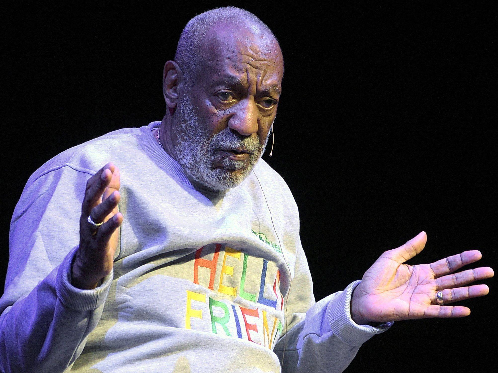 Bill Cosby weist die Missbrauchsvorwürfe zurück.