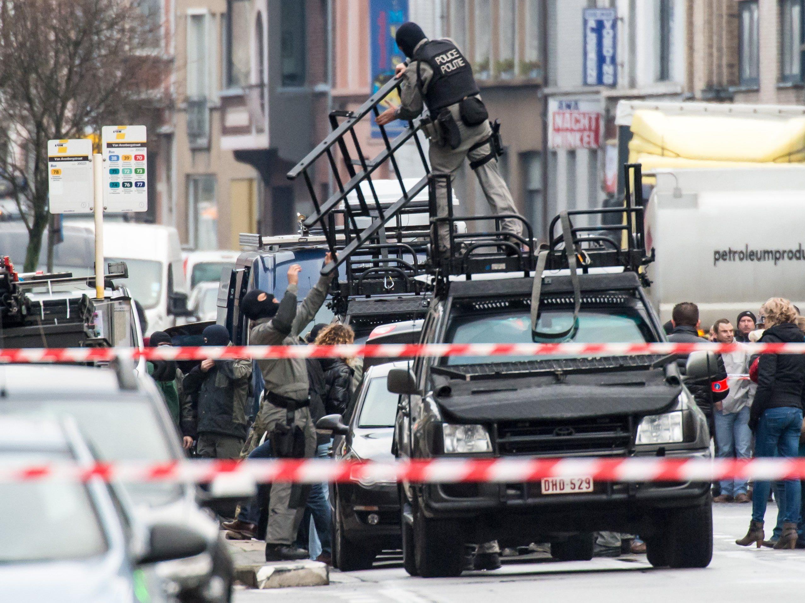 """Geiselnahme in Gent: Polizei nimmt Tat """"sehr ernst""""."""