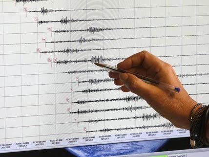 Am Montag wurde ein leichtes Erdbeben gemessen.