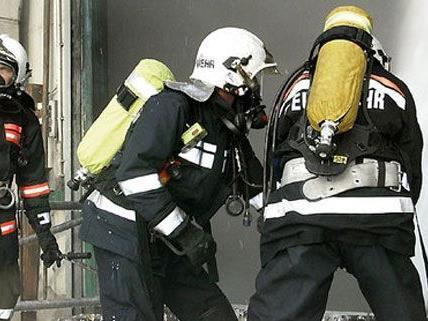Die Feuerwehr war im Bezirk Gänserndorf im Löscheinsatz