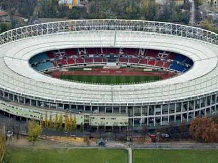 Den besten Rasen gibt es laut Spielerumfrage im Wiener Ernst Happel-Stadion.