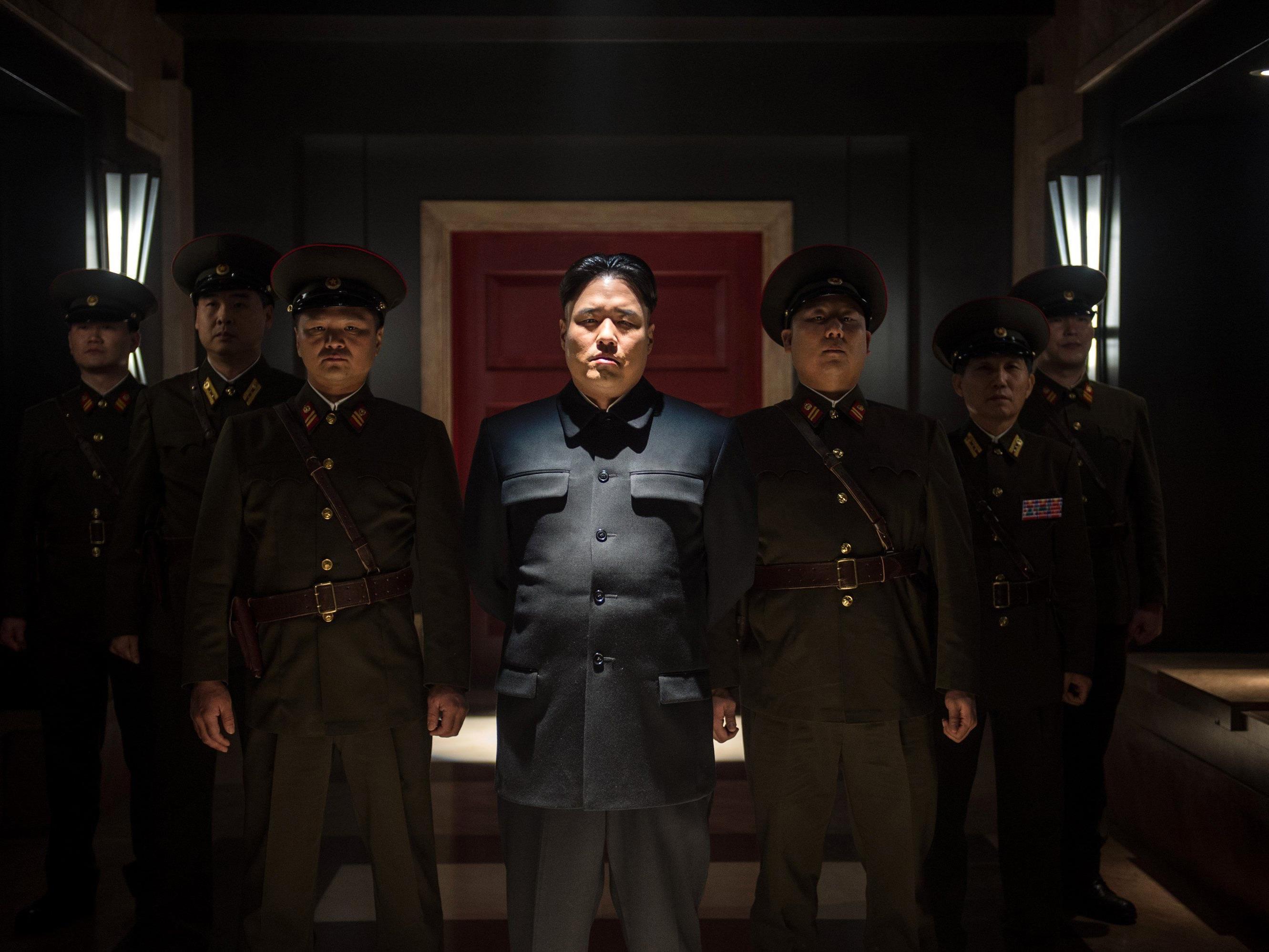 """Im Film """"The Interview"""" sollen zwei Journalisten im Auftrag der CIA Kim Jong-un töten."""
