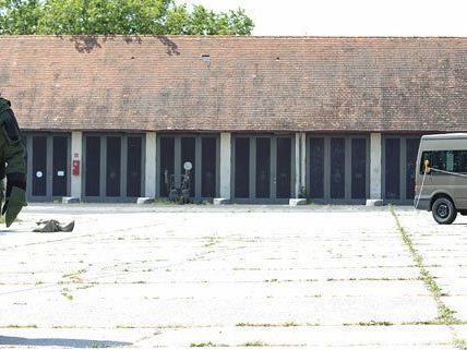 Die Martinek-Kaserne ist in keinem guten Zustand.