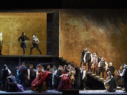 """Am Samstag feierte """"Rigoletto"""" in Wien Premiere."""