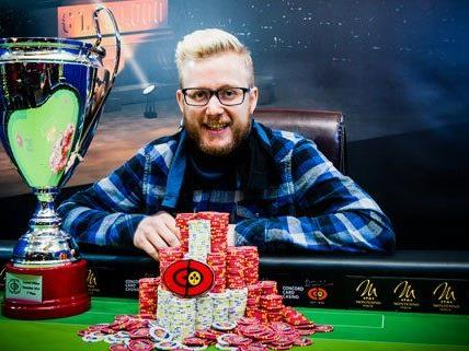 David Packer gewinnt die Concord Million in Wien.